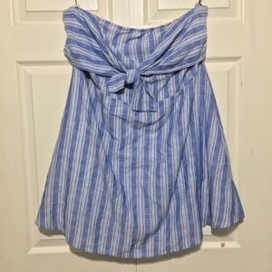 Forever 21+ Womens Dress Cotton Woven Strapless 3X